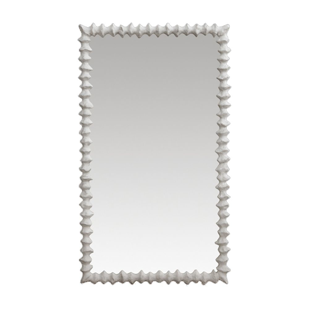 Picture of CLYDE MIRROR, LARGE WHITE
