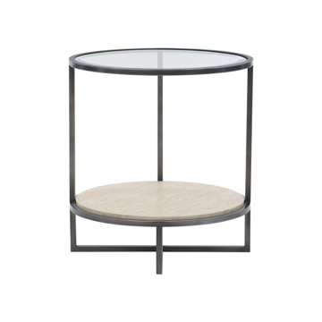 Picture of HARLOW METAL ROUND END TABLE