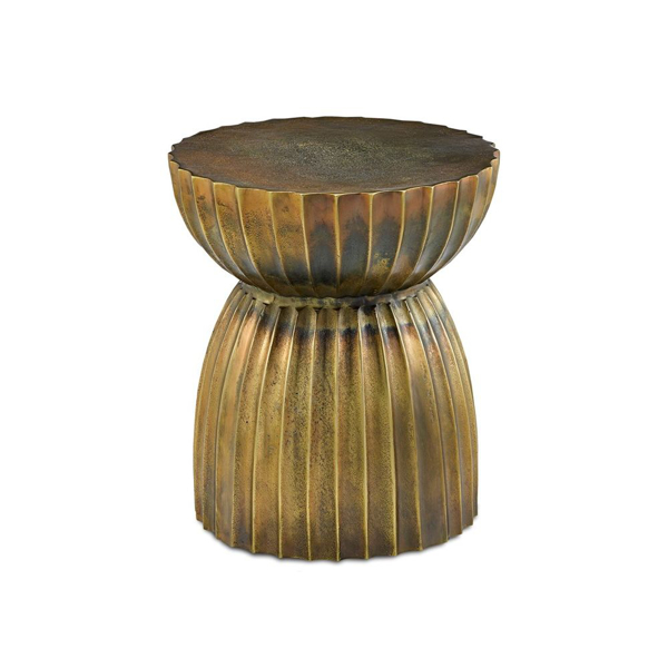 Picture of RASI ANTIQUE BRASS TABLE