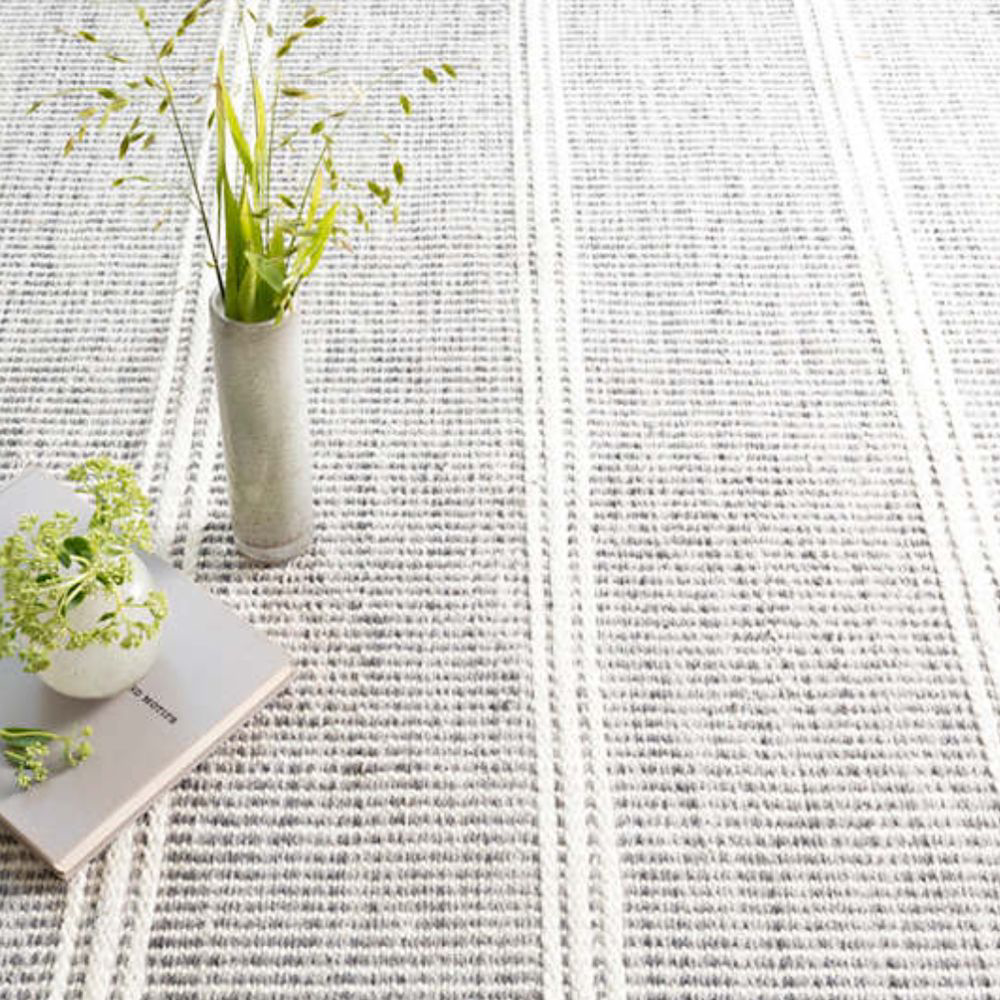 Picture of MALTA GREY WOVEN WOOL RUG