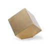 Picture of CLOSED STANDING CUBE, BRASS