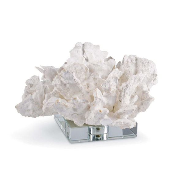 Picture of FLOWER CORAL ON CRYSTAL BASE