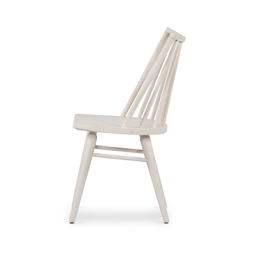 Picture of LEWIS WINDSOR CHAIR, OFF WHT