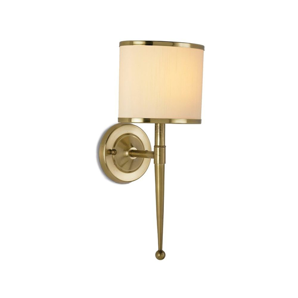Picture of PRIMO WALL SCONCE CREAM SHADE