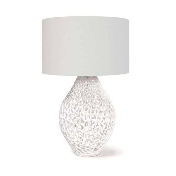 Picture of JETT TABLE LAMP, WHITE