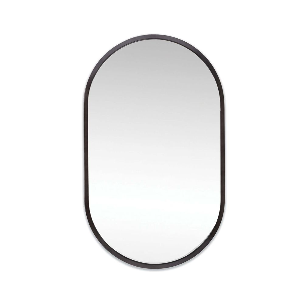 Picture of CANAL MIRROR, BLK. STEEL