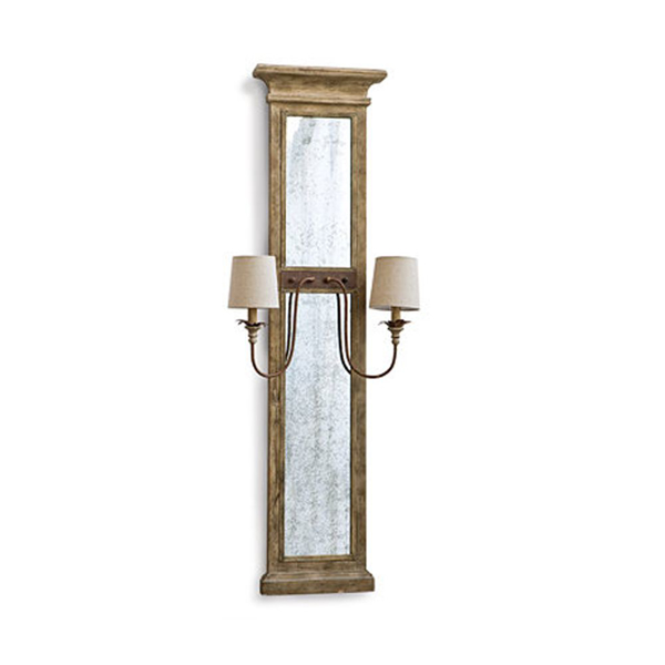 Picture of PROVENCE MIRROR PANEL SCONCE