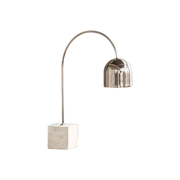 Picture of TRAVERTINE BASE DOME TASK LAMP