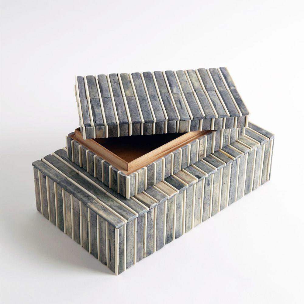 Picture of GREY/IVORY BONE BOX, SM