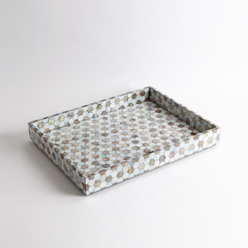 Picture of MOTHER OF PEARL TRAY-LG