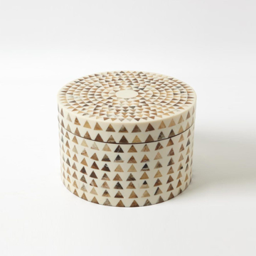 Picture of TRIANGLE STRIPE BOX LARGE