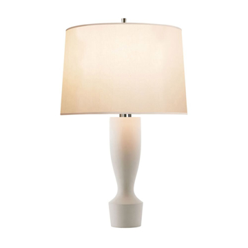 Picture of BODICE TABLE LAMP, WHT