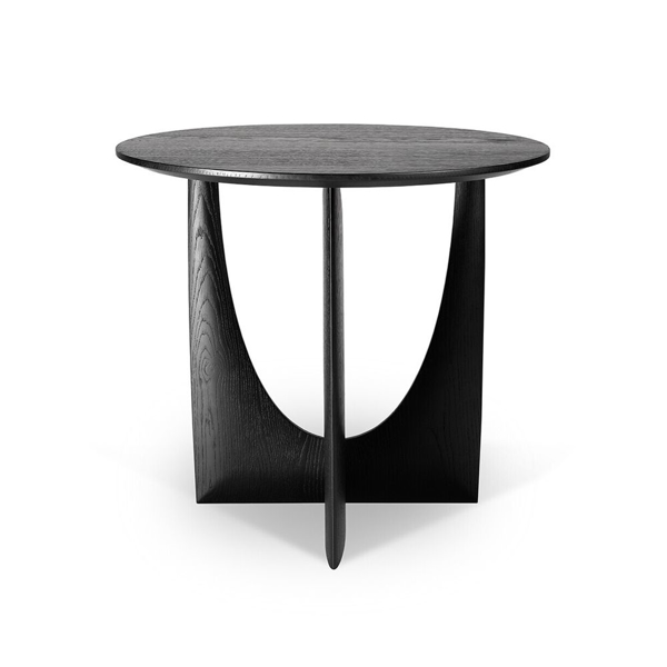 Picture of GEOMETRIC SIDE TABLE, BLK OAK