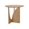 Picture of GEOMETRIC SIDE TABLE, OAK