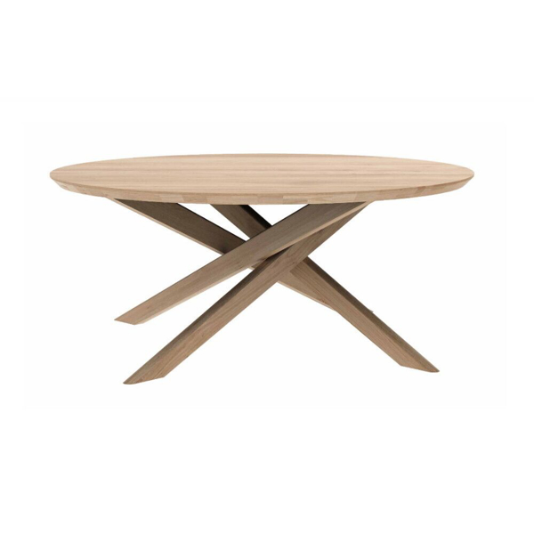 Picture of MIKADO ROUND COFFEE TABLE, OAK