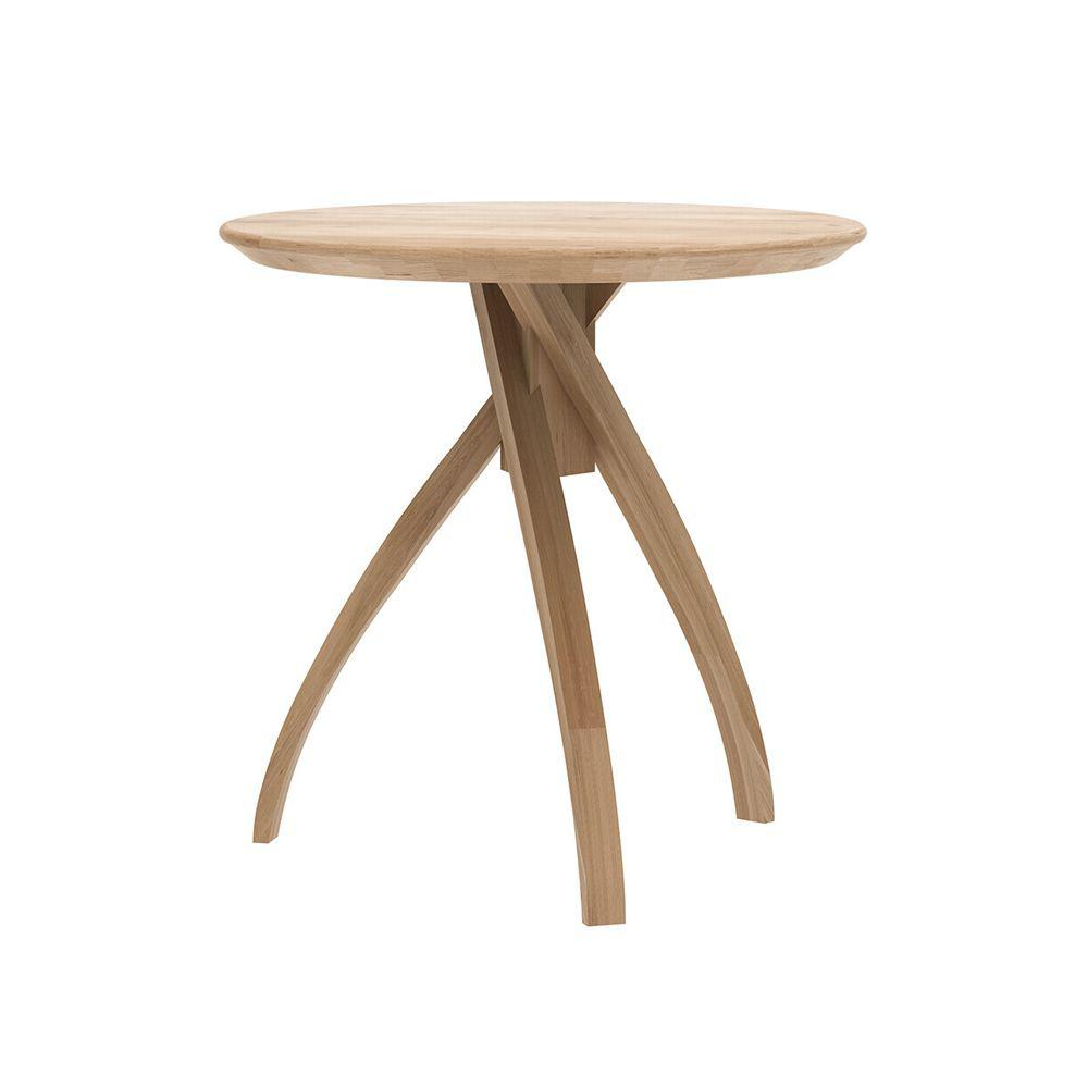 Picture of TWIST SIDE TABLE, OAK