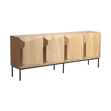 Picture of STAIRS SIDEBOARD 4D, OAK