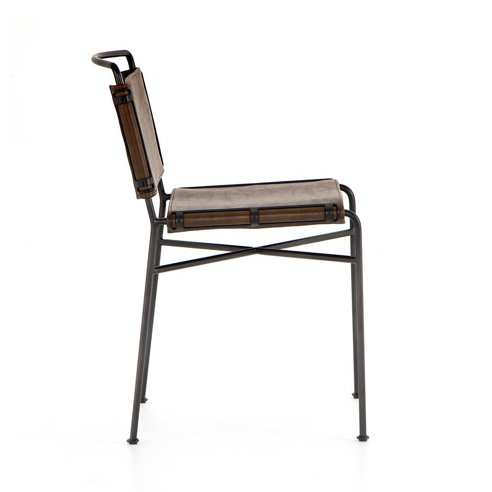 Picture of WHARTON DINING CHAIR, BROWN