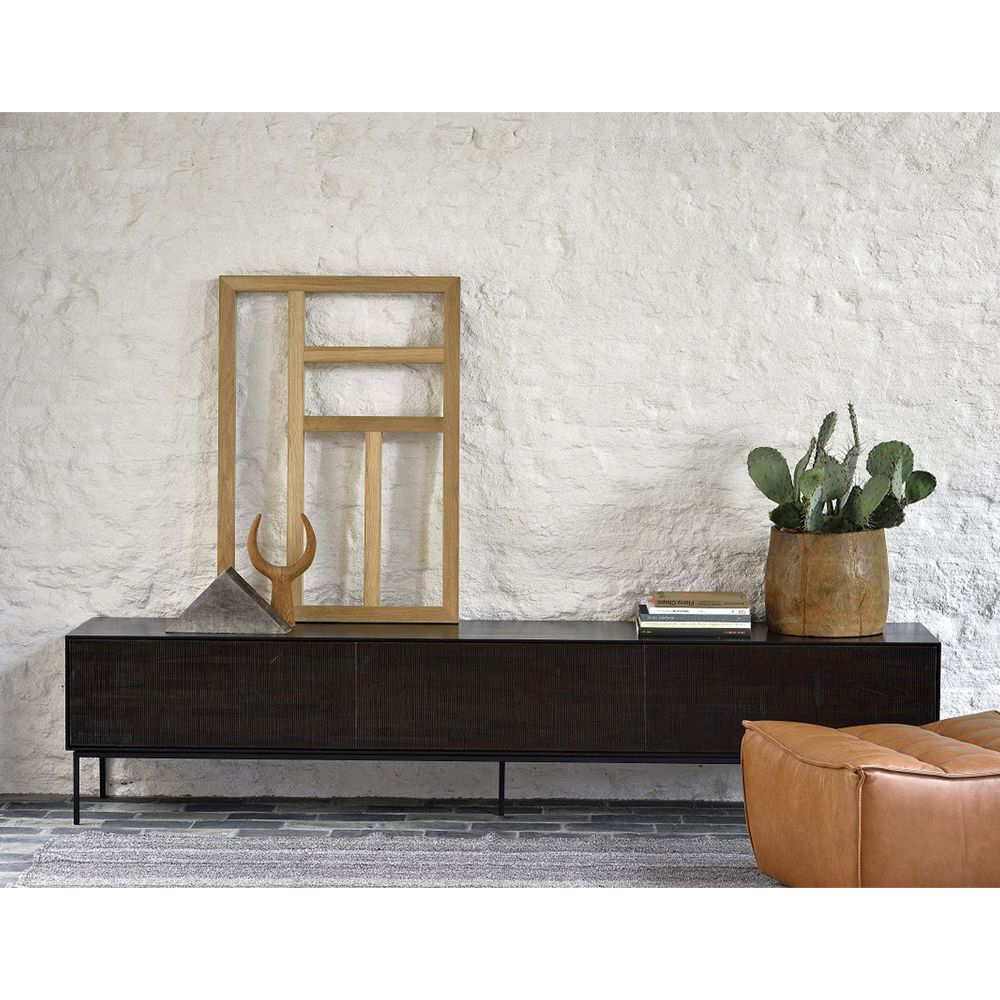 Picture of GROOVES MEDIA CABINET 3D, BLK