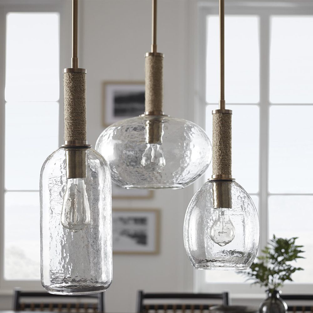 Picture of BRONSON GLASS PENDANT, WIDE