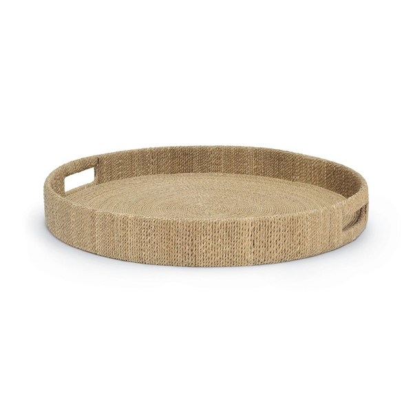 Picture of MONARCH ROUND TRAY NATURAL, LG