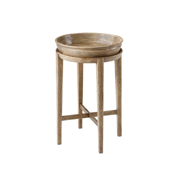 Picture of NEWTON ACCENT TABLE, ECHO OAK