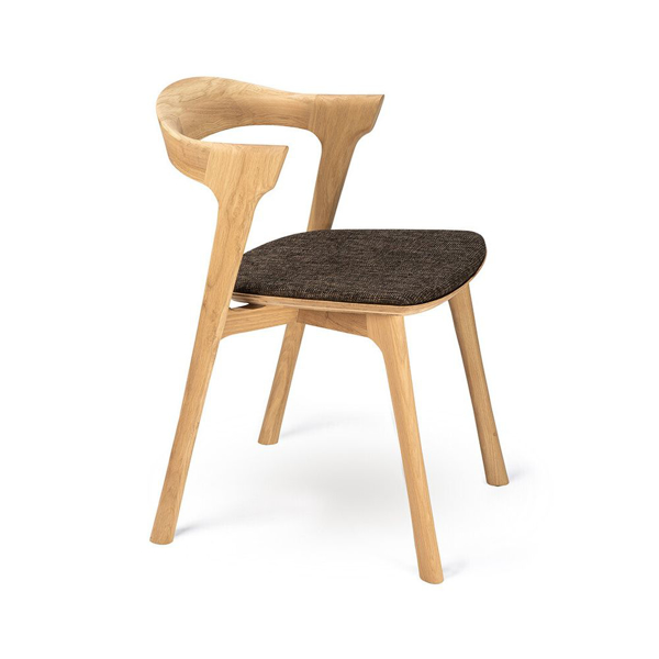 Picture of OAK BOK DINING CHAIR, DK BROWN