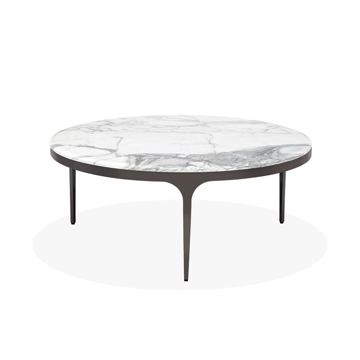 Picture of CAMILLA COCKTAIL TABLE,CARRARA