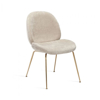 Picture of LUNA DINING CHAIR -BEIGE LATTE