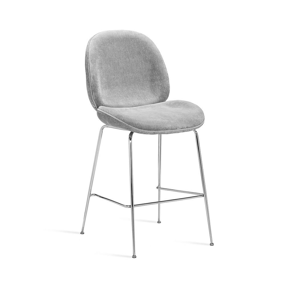 Picture of LUNA COUNTER STOOL, OCEAN GREY