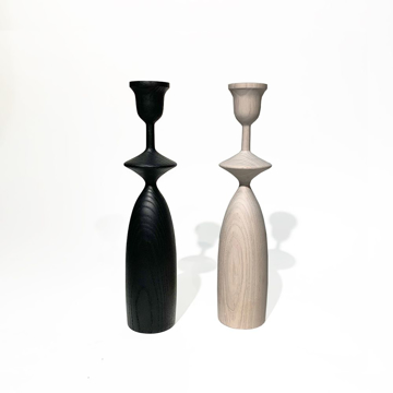 Picture of NOVICE WHITE CANDLEHOLDER, MED