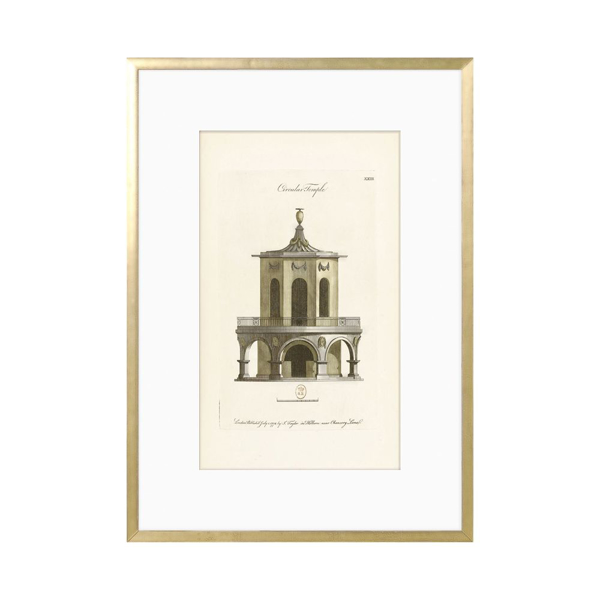 Picture of ENGRAVING-CIRCULAR TEMPLE,1778