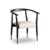 Picture of SOHO DINING CHAIR, MATT BLK