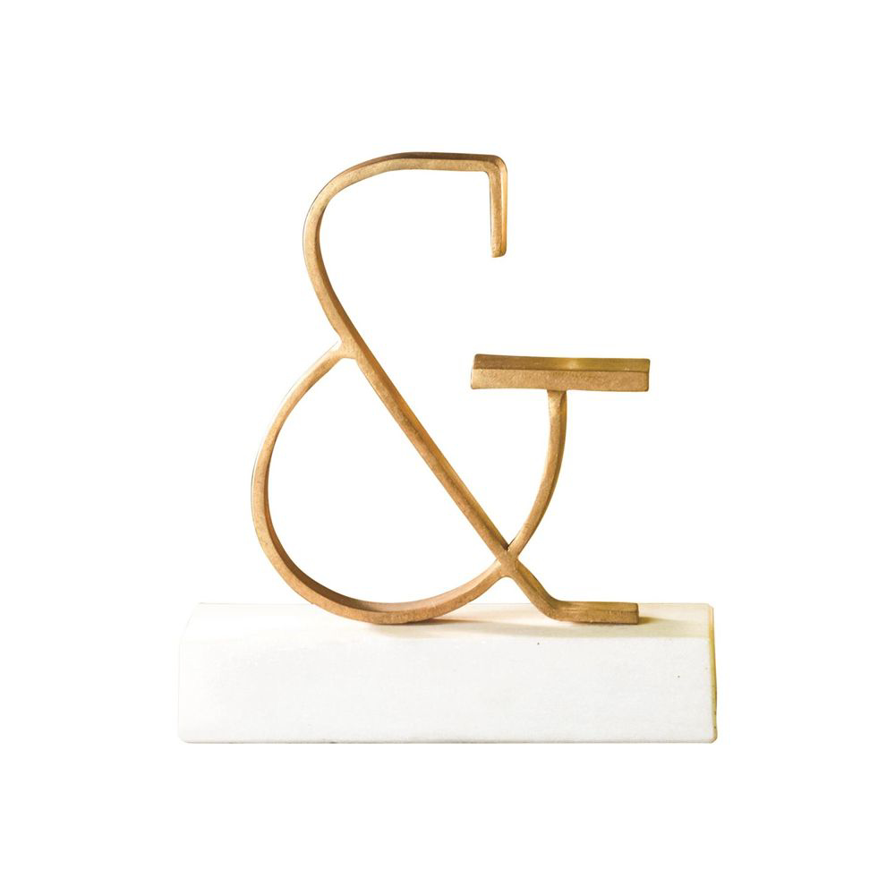 Picture of AMPERAND OBJECT, GOLD LEAF