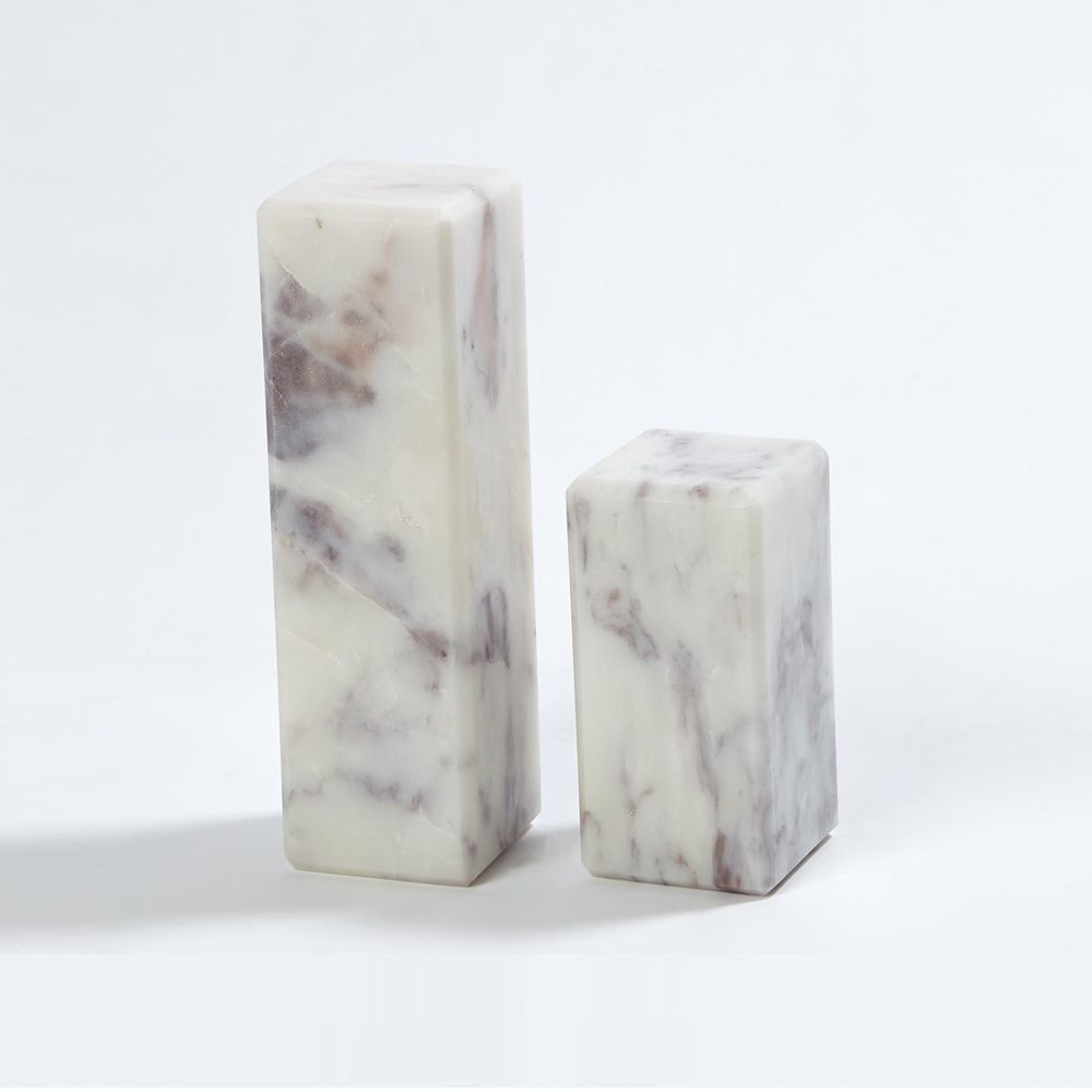 """Picture of 3"""" MARBLE MINI PED/RISER, LG"""