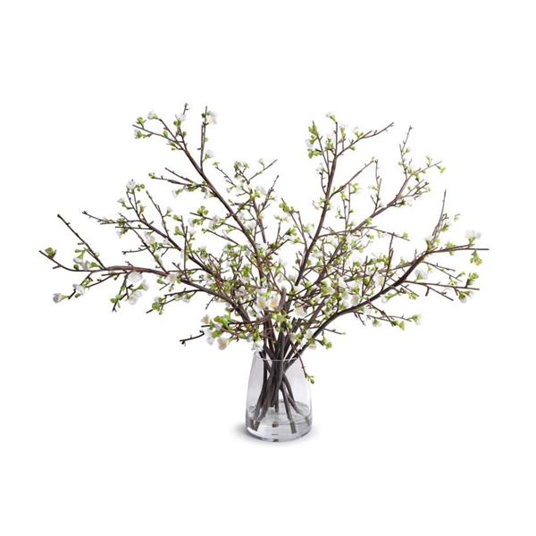 Picture of QUINCE ARRANGEMENT, WHITE