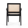 Picture of FLORA DINING CHAIR, MATTE BLK