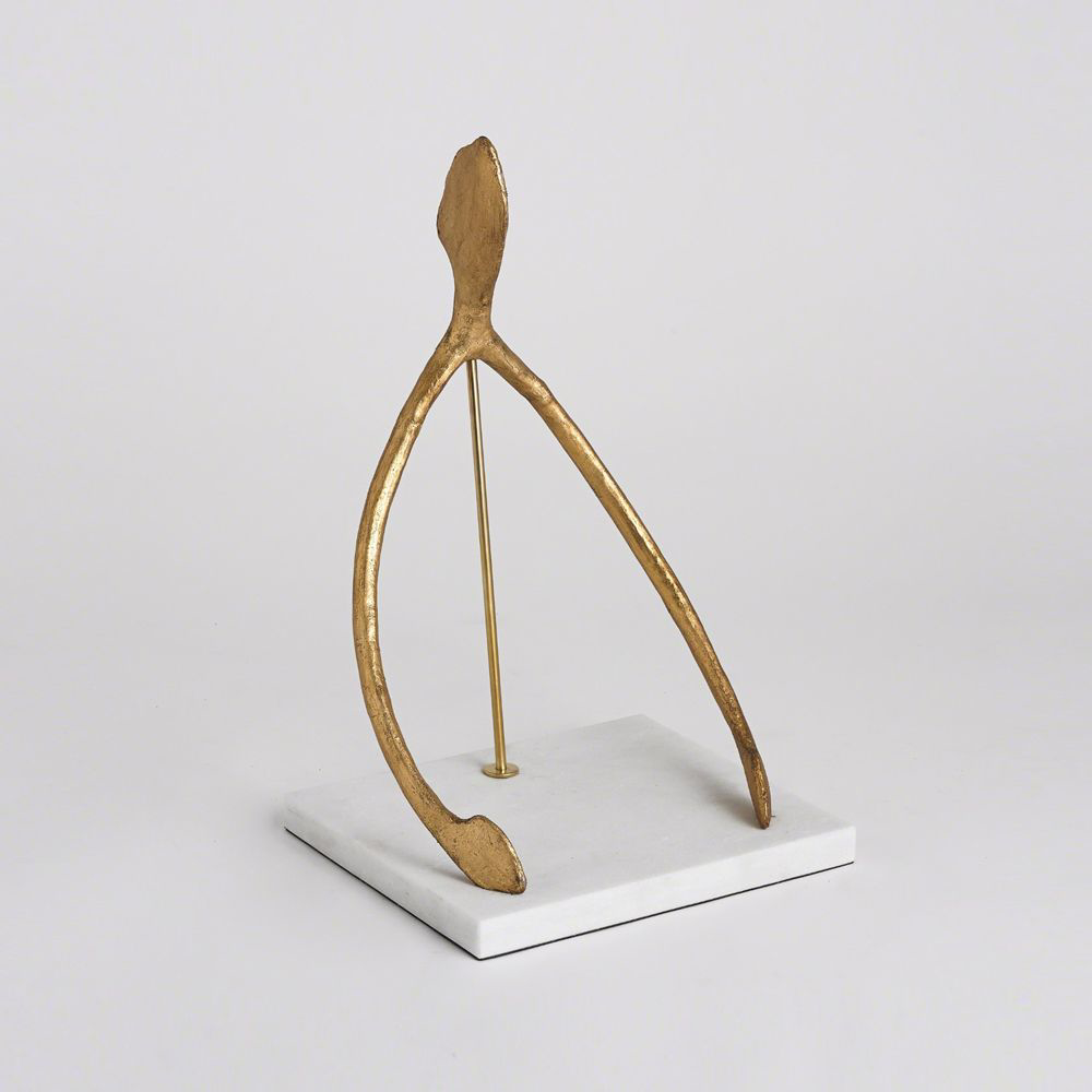 Picture of WISH SCULPTURE, GOLD LEAF