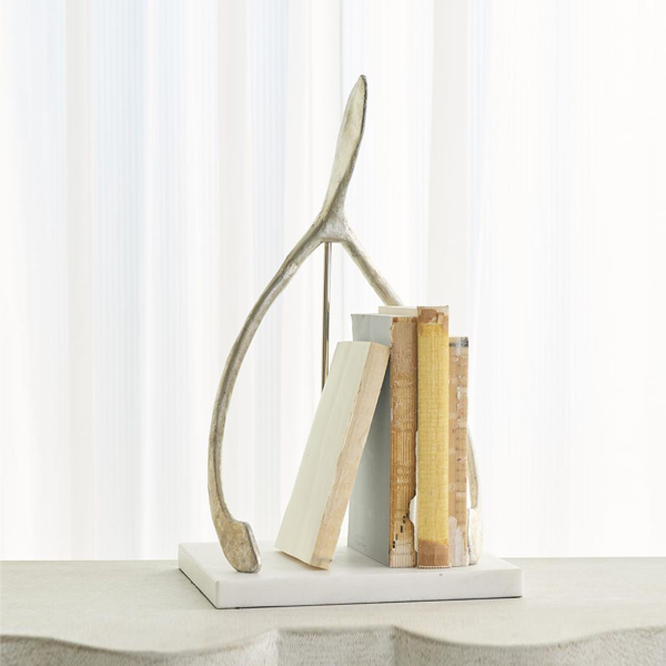 Picture of WISH SCULPTURE, SILVER LEAF