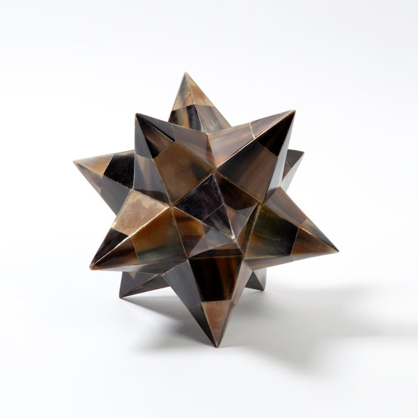 Picture of STELLATED DODECAHEDRON, BR HRN