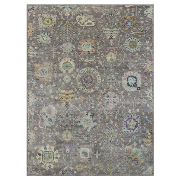 Picture of KARABAGH RUG, GRY/BSH 8X10