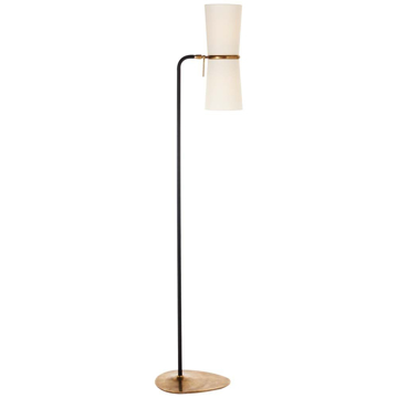 Picture of CLARKSON FLOOR LAMP, BLK-HAB
