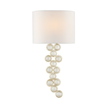 Picture of MILAZZO MED LEFT SCONCE, GILD