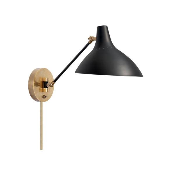 Picture of CHARLTON WALL LIGHT, BLK