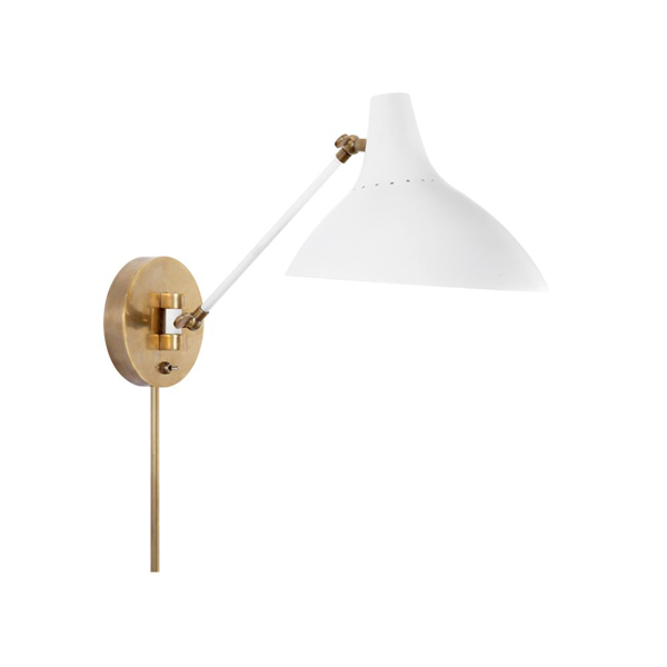 Picture of CHARLTON WALL LIGHT, WHITE