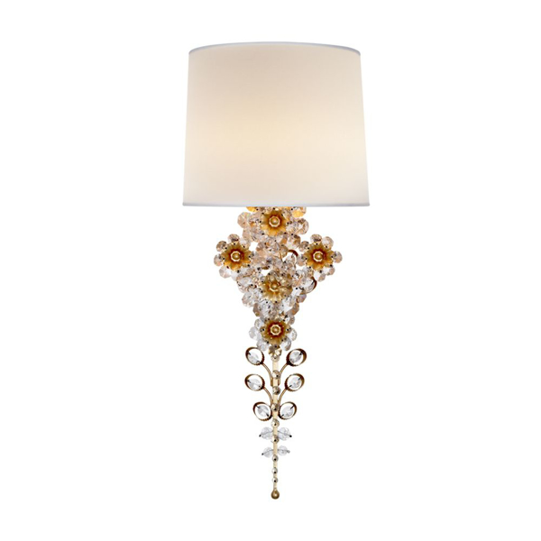 Picture of CLARET TAIL SCONCE, GILD