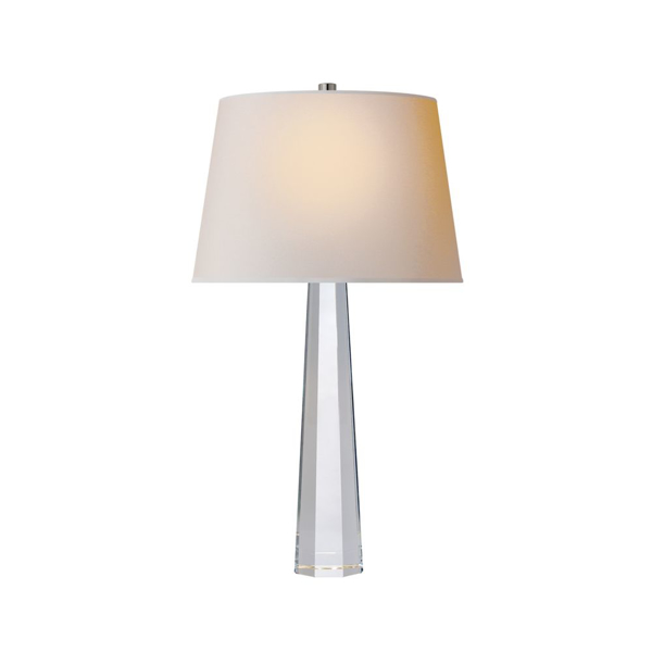 Picture of OCTAGONAL SPIRE MED TABLE LAMP