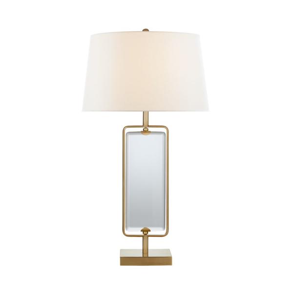 Picture of HENRI LG FRAMED TABLE LAMP,HAB