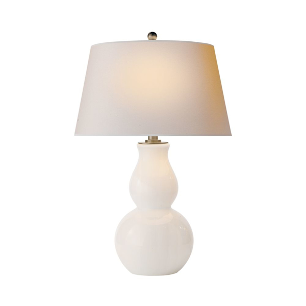 Picture of OPEN BOTTOM GRD TABLE LAMP, WG