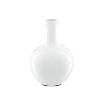 Picture of IMPERIAL WHITE GOURD VASE, SM
